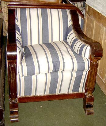 Juego de living sillones dise o art deco retro buen for Juego de sillones usados