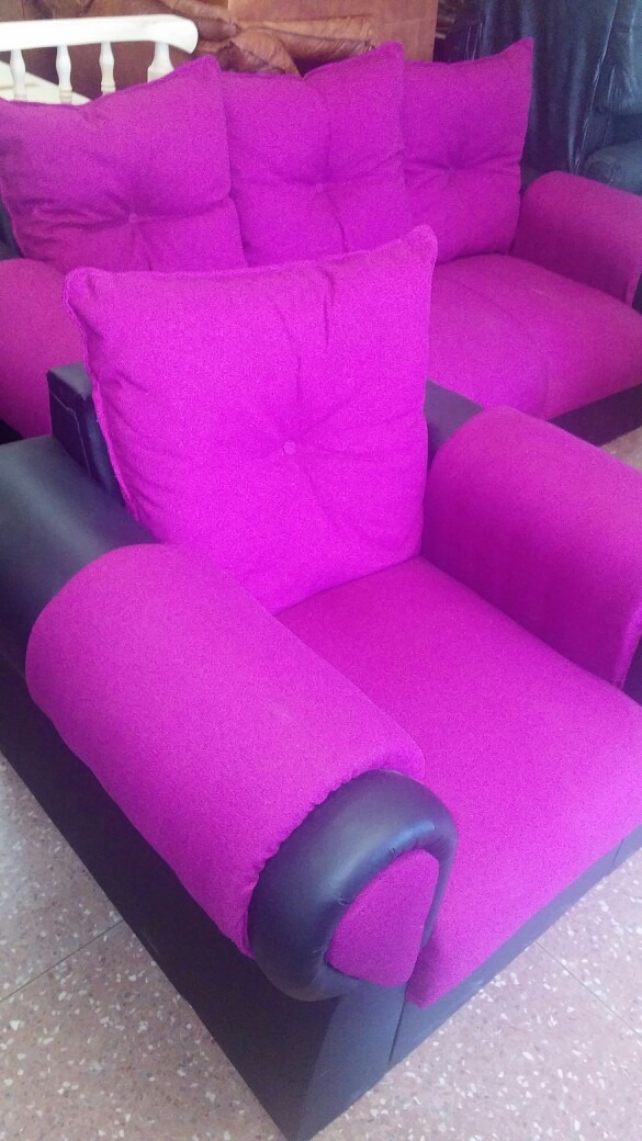 Juego de living sillones sofa grandes y c modos for Sofas y sillones a juego