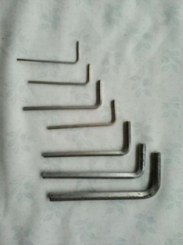 juego de llaves allen milimetricas craftool usa