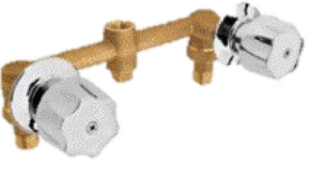 Juego de llaves de empotrar para regadera marca foset for Vastagos para regadera precio
