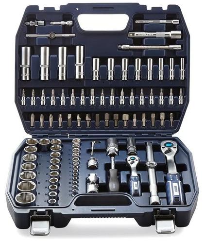 juego de llaves tubo y puntas enc 1/2 y 1/4 94 pz bremen