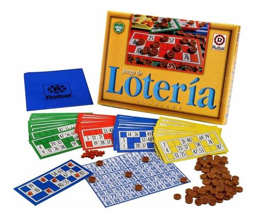 juego de loteria linea green box ruibal mundo manias