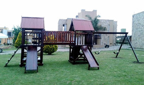 Juegos Para Niños De Madera Jardin Con Puente en Mercado Libre Argentina