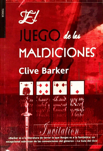 juego de maldiciones - ed. factoría de ideas - clive barker