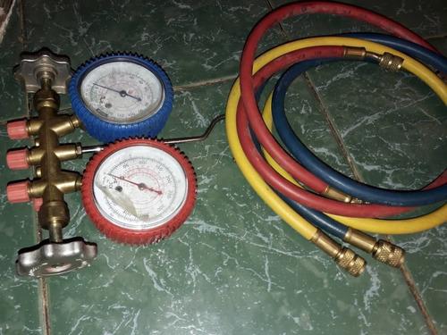 juego de manómetros de presión