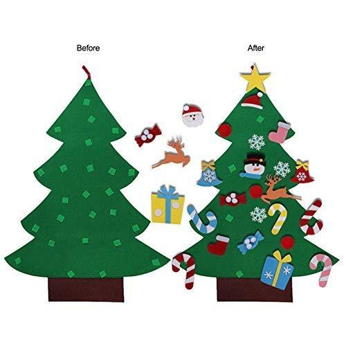 Juego De Manualidades De Fieltro Para árbol De Navidad