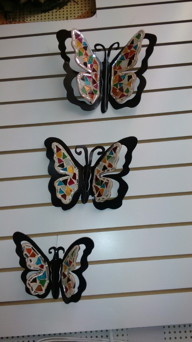 Juego de mariposas para decorar pared de la sala en mercado libre - Adornos de pared ...