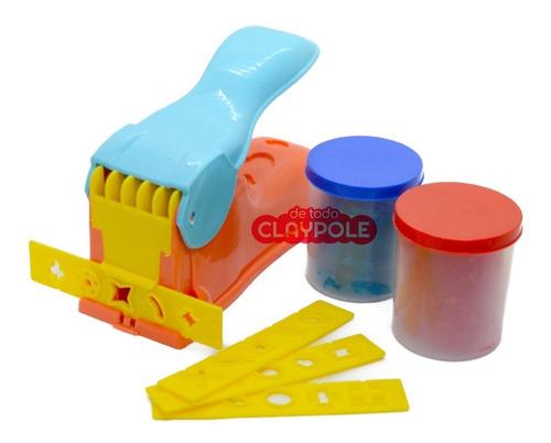 juego de masa duravit con extrusor y moldes duramasa