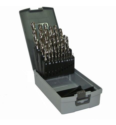 juego de mechas ezeta 25 piezas acero rapido uso industrial