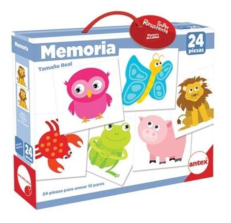 juego de memoria 24 piezas antex 1240