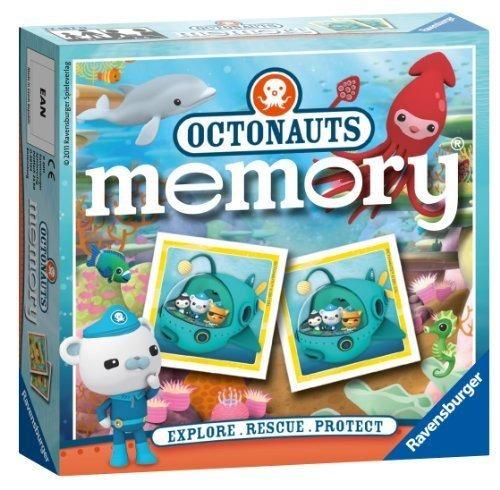 juego de memoria de octonauts explore! ¡rescate! ¡proteger!