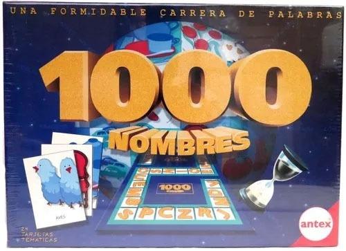 Juego De Mesa 1000 Mil Nombres Familiar Nino Antex Childrens 504