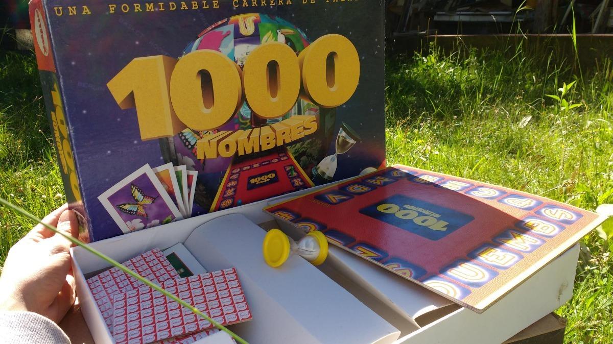 Juego De Mesa 1000 Nombres Antex 300 00 En Mercado Libre
