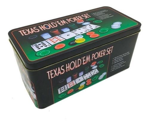 juego de mesa 200 fichas poker texas holden