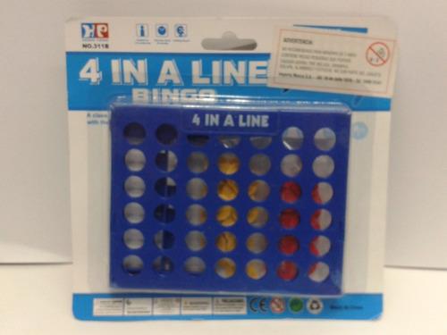 juego de mesa 4 en linea - de ingenio - nuevos en caja !!