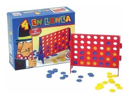 juego de mesa 4 en linea original ruibal planeta juguete