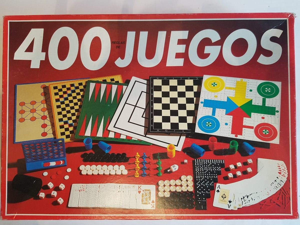 Juego De Mesa 400 Juegos Reunidos Falomir 750 00 En Mercado Libre
