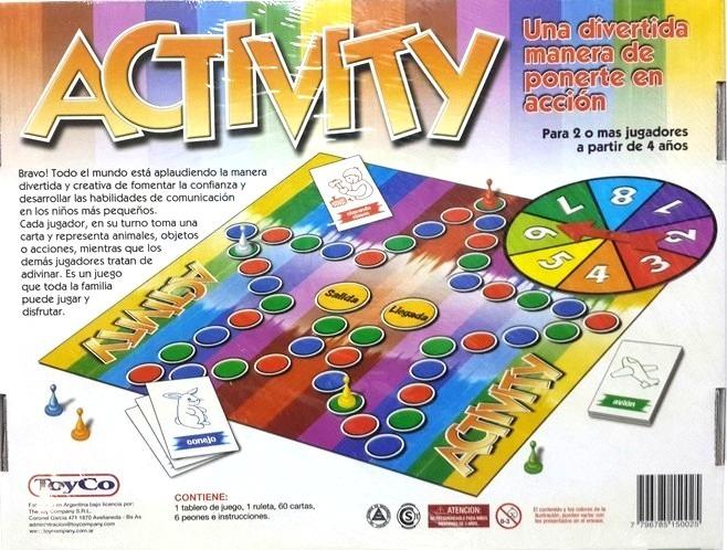 Juego De Mesa Activity Art 15002 450 00 En Mercado Libre