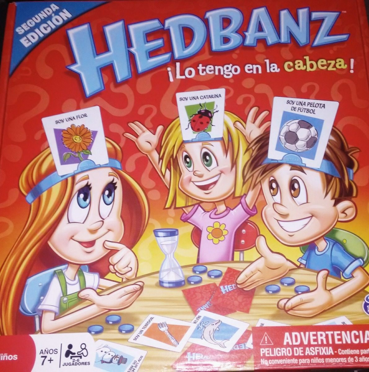 Juego De Mesa Adivina Que Soy Hedbanz 2da Edicion Espanol