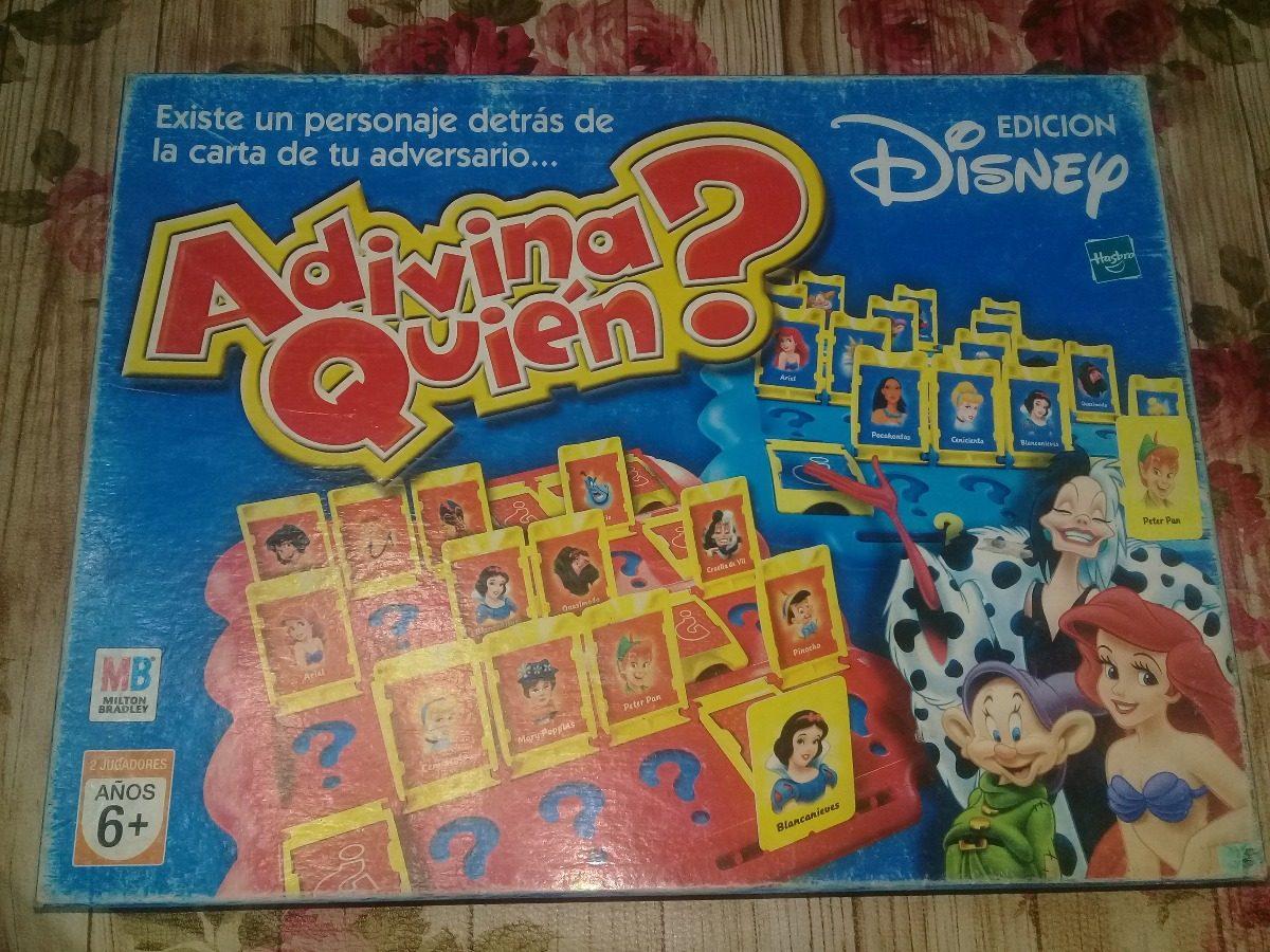 Juego De Mesa Adivina Quien Edicion Disney 250 00 En Mercado Libre