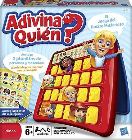 Juego De Mesa Adivina Quien Hasbro Envio Gratis 15 990 En