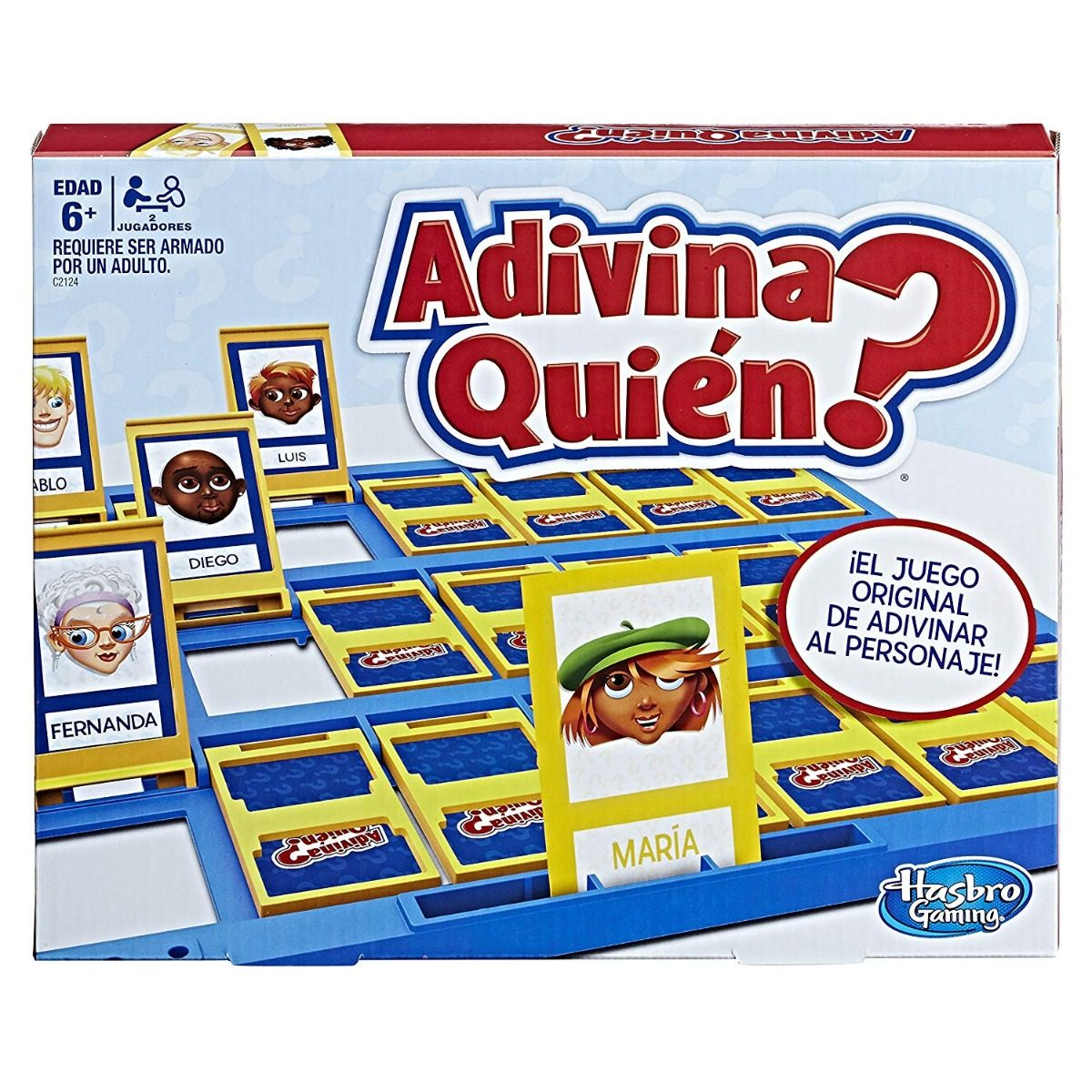Hasbro Gaming Juego De Mesa Adivina Quien C2124