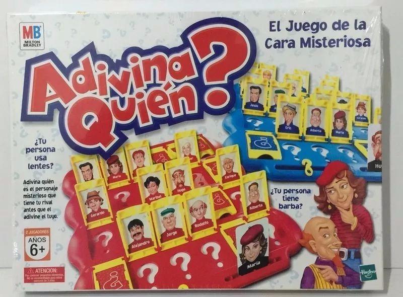 Juego De Mesa Adivina Quien Hasbro Para Toda La Familia 589 00
