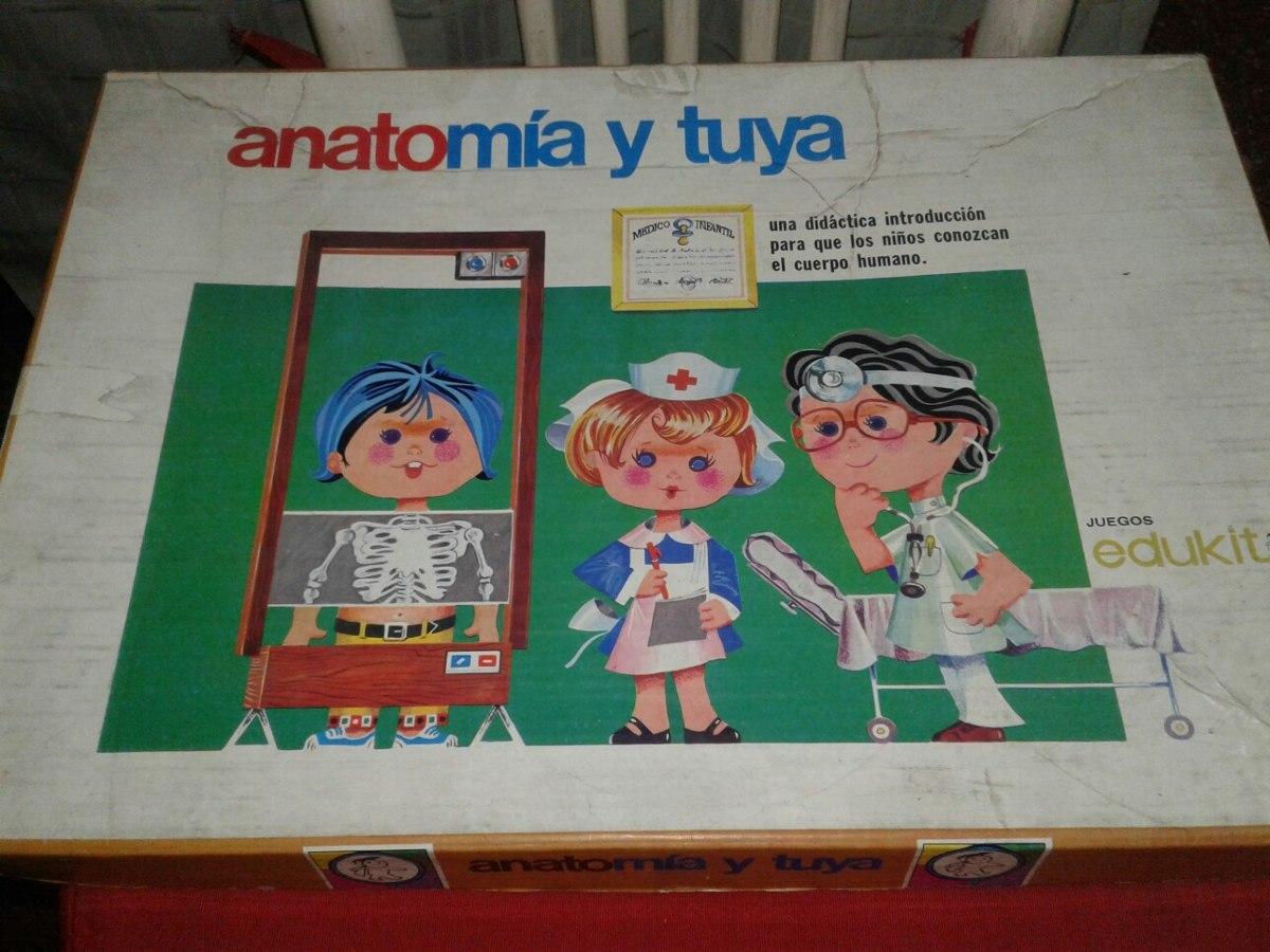 Juego De Mesa Antiguo Anatomía Y Tuya - $ 200,00 en Mercado Libre