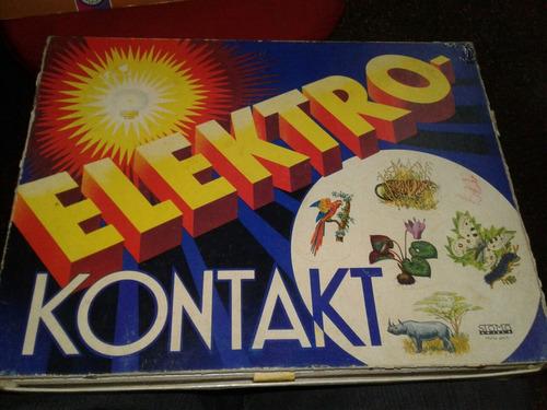 juego de mesa antiguo electró kontakt