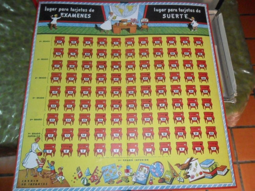 juego de mesa antiguo examina examinador leeser ficha manual