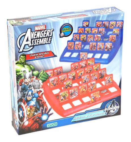 juego de mesa avengers adivina el personaje ditoys