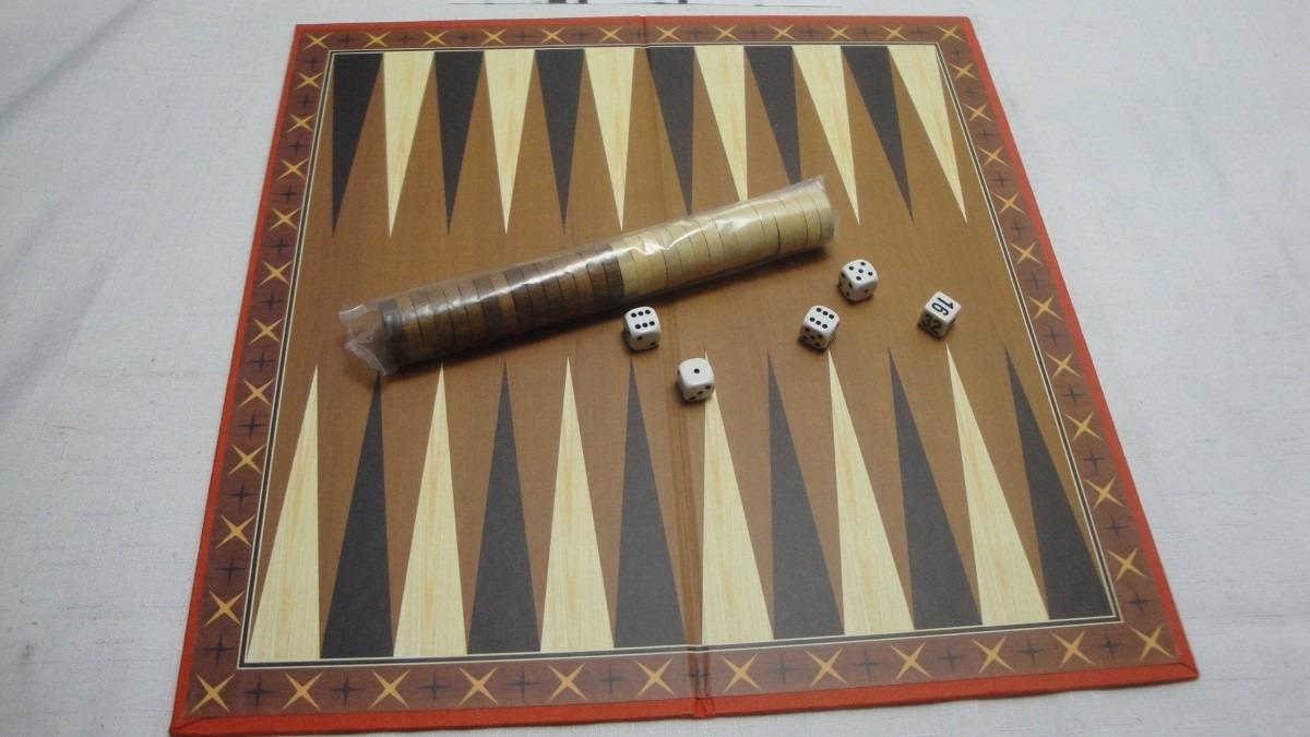 Juego De Mesa Backgammon 249 00 En Mercado Libre