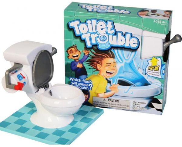 Juego De Mesa Bano Loco Generico Toilet Trouble
