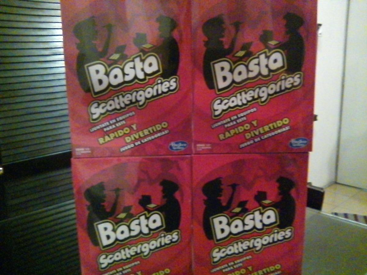 Juego De Mesa Basta Scattergories De Hasbro 230 00 En Mercado Libre