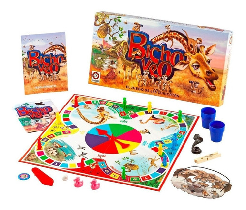 juego de mesa bicho veo el juego de las suricatas ruibal