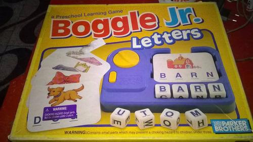 juego de mesa - boogle jr.
