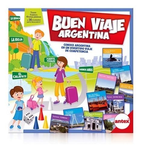 juego de mesa - buen viaje argentina - antex 4341