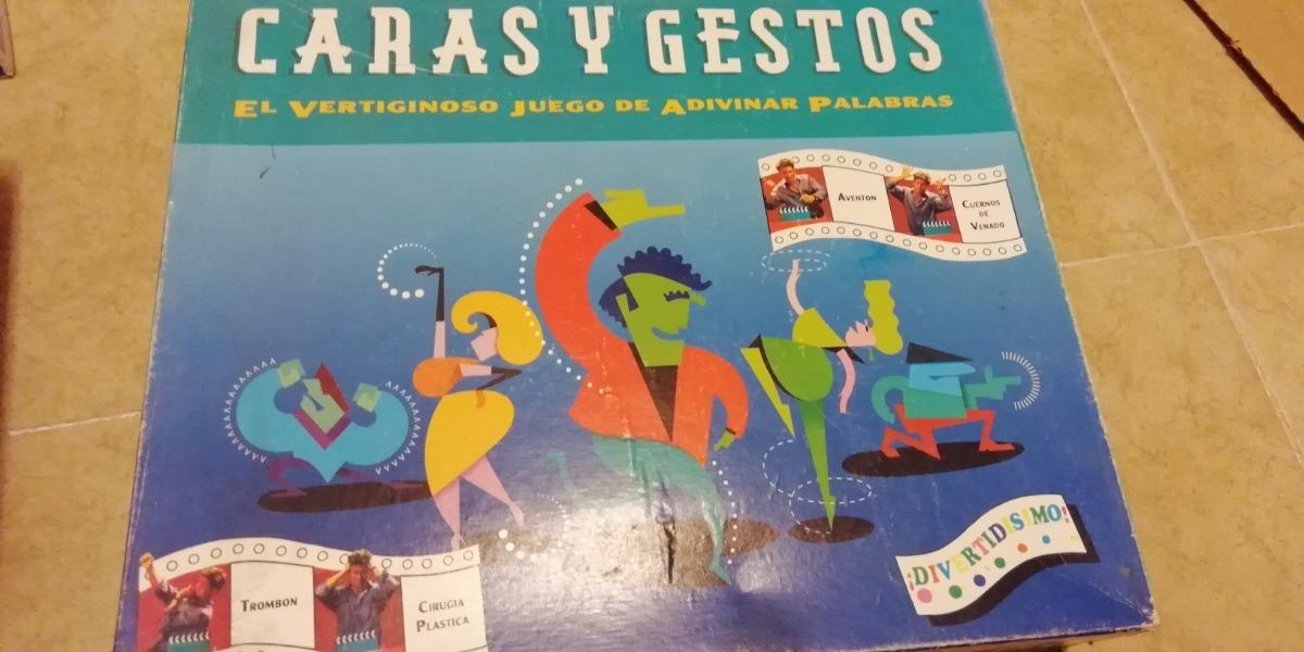 Juego De Mesa Caras Y Gestos 1era Edicion Anos 90 S 550 00 En
