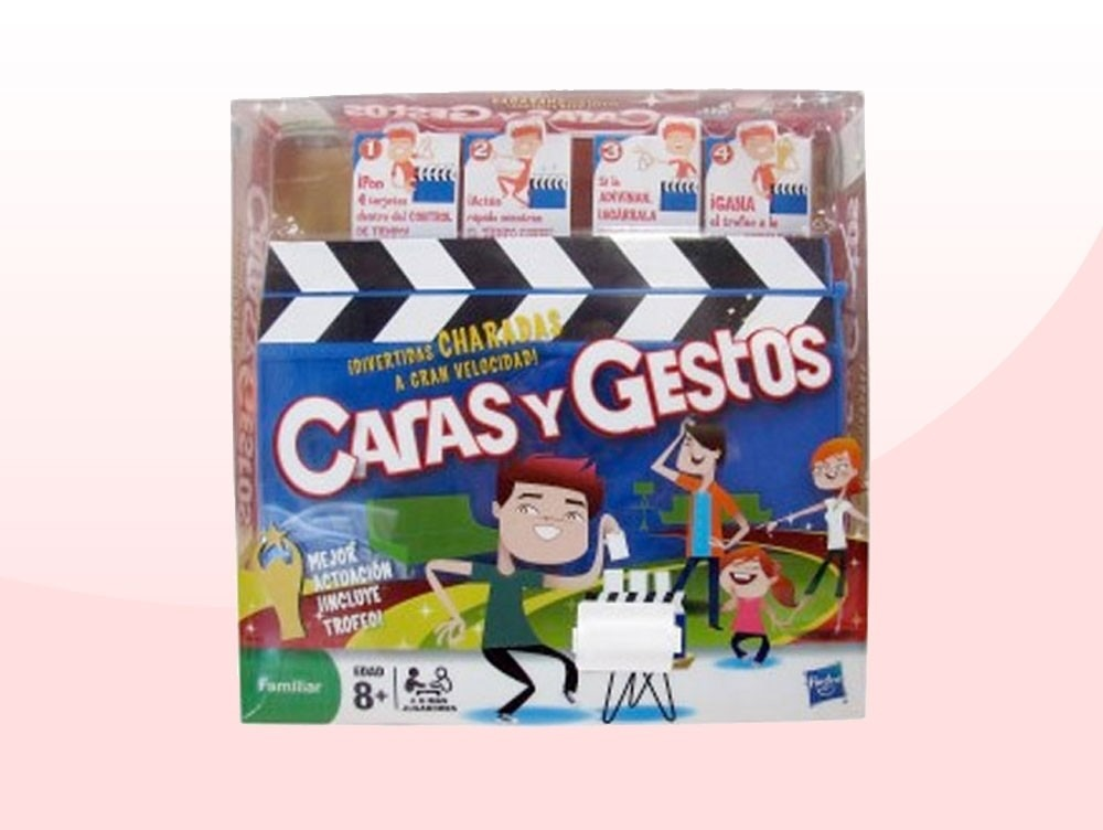 Juego De Mesa Caras Y Gestos Hasbro Original Bs 0 70 En Mercado Libre
