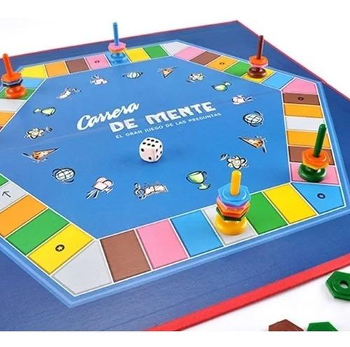 juego de mesa carrera de mente ruibal version azul original