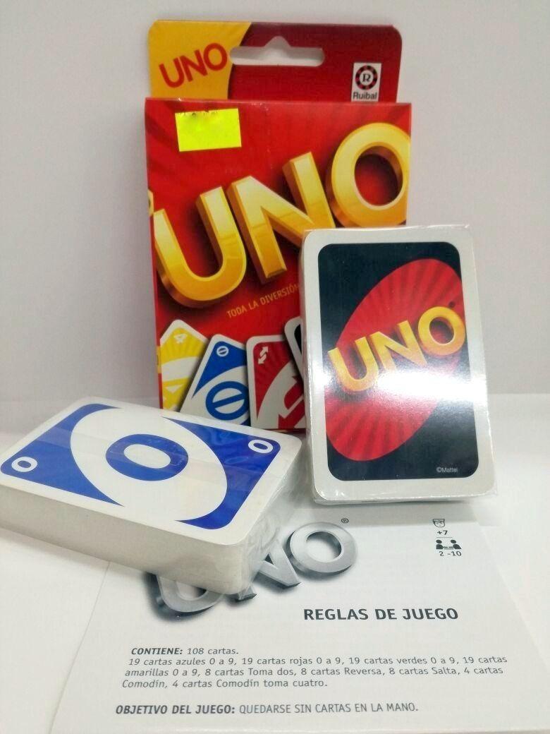 Juego De Mesa Cartas Uno Original Ruibal La Plata Antoniohob 399