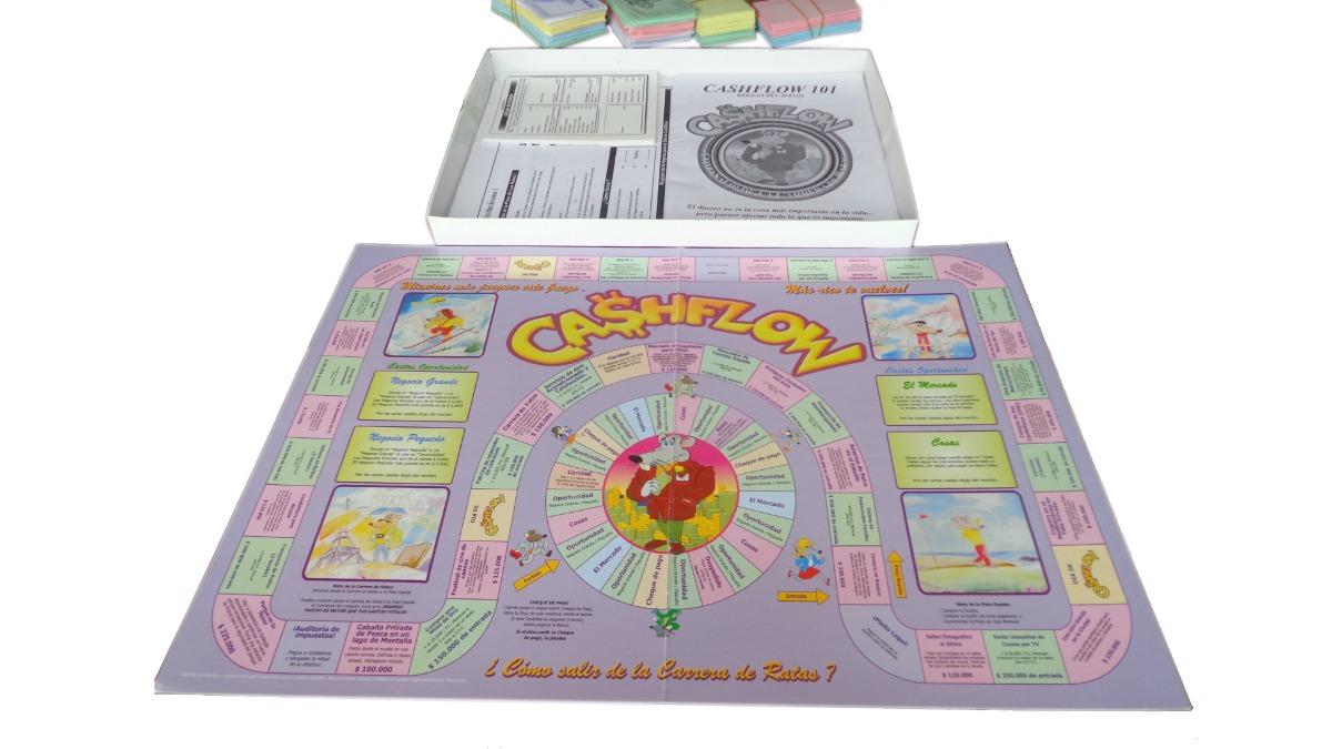 Juego de mesa cashflow 101 juego pc en ingles envio for Juego de mesa cash flow