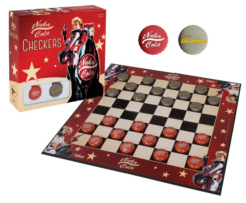 Juego de mesa checkers de nuka cola fallout damas chinas en mercado libre - Fallout juego de mesa ...