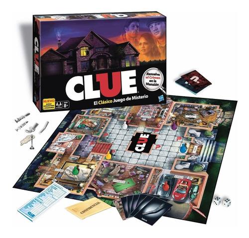 juego de mesa clue (3676)