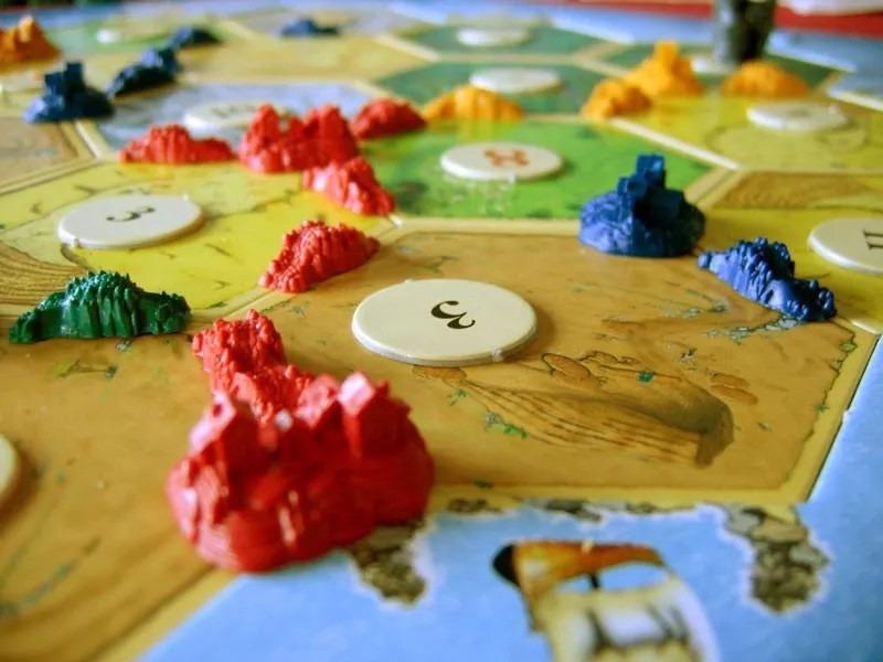 Juego de mesa colonos de catan marca devir original 1 en mercado libre - Catan juego de mesa ...