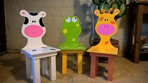 juego de mesa con sillas para niños