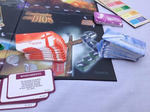 juego de mesa cristiano - caminando con dios