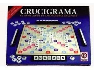 juego de mesa crucigrama clásico de lujo original ruibal