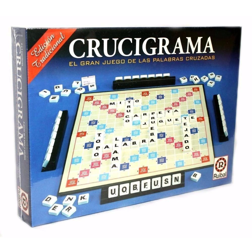 Juego De Mesa Crucigrama Ruibal Tipo Scrabble Jugue Tom 359 00