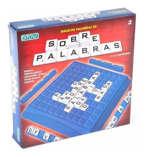 juego de mesa crucigrama sobre palabras ditoys cuotas